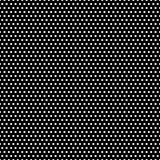 Reticolo di puntini in bianco e nero di Polka Immagine Stock
