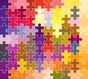 Reticolo di puzzle del puzzle royalty illustrazione gratis
