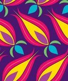 Reticolo di Seamsless del tulipano dell'ottomano Immagini Stock