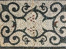 Reticolo di simbolo del mosaico dei ciottoli Fotografia Stock Libera da Diritti