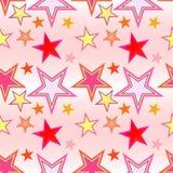 Reticolo di stella senza giunte Immagini Stock Libere da Diritti