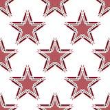 Reticolo di stelle senza giunte Immagine Stock