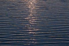 Reticolo di superficie dell'oceano Fotografia Stock
