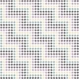Reticolo di zigzag ai punti - pastello di colore Immagine Stock