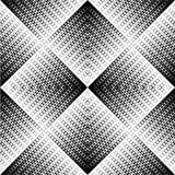 Reticolo di zigzag in bianco e nero Immagini Stock