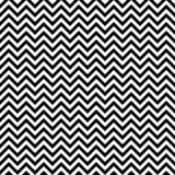Reticolo di zigzag senza cuciture di vettore Struttura di Chevron Fondo in bianco e nero Progettazione monocromatica delle bande  illustrazione vettoriale