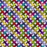 Reticolo diagonale astratto variopinto Immagini Stock