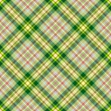 Reticolo diagonale checkered senza giunte Immagini Stock