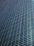 Reticolo diagonale della facciata Fotografia Stock