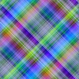 Reticolo diagonale multicolore. Fotografie Stock
