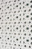 Reticolo e disegno islamici tradizionali Fotografia Stock Libera da Diritti