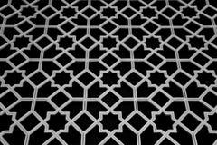 Reticolo e disegno islamici tradizionali Immagine Stock
