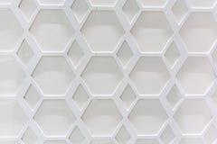 Reticolo esagonale astratto Fotografia Stock