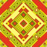 Reticolo etnico Arte tribale Reticolo africano illustrazione vettoriale