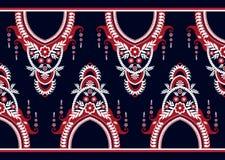 Reticolo etnico Progettazione geometrica del modello per fondo o la carta da parati Immagine Stock Libera da Diritti