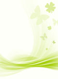Reticolo, fiori & farfalla Fotografia Stock Libera da Diritti