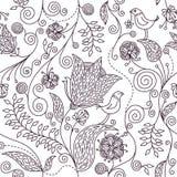 reticolo floreale Immagini Stock