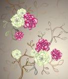 Reticolo floreale royalty illustrazione gratis
