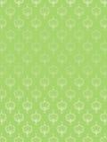 Reticolo floreale astratto senza giunte verde Immagini Stock
