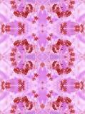 Reticolo floreale caleidoscopico Fotografia Stock Libera da Diritti