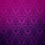 Reticolo floreale del fondo dell'annata del damasco. Immagine Stock Libera da Diritti