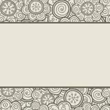 Reticolo floreale Illustrazione di vettore Fondo Forme floreali La struttura senza fine può essere usata per la stampa sul tessut illustrazione di stock