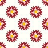 Reticolo floreale senza giunte Fotografie Stock