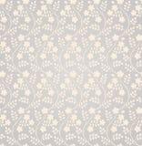 Reticolo floreale senza giunte elegante Fotografie Stock