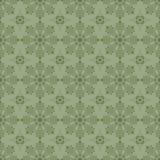 Reticolo floreale verde Fotografia Stock