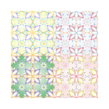 Reticolo flowers Fotografie Stock Libere da Diritti