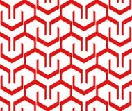 Reticolo geometrico Immagini Stock