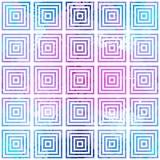 Reticolo geometrico astratto Illusione ottica Fotografia Stock