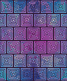 Reticolo geometrico astratto Illusione ottica Fotografie Stock
