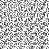 Reticolo geometrico astratto Origine etnica orientale floreale Ornamento arabo illustrazione di stock