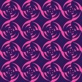 Reticolo geometrico astratto Priorità bassa senza giunte di vettore Fotografia Stock