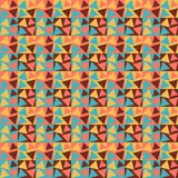 Reticolo geometrico Reticolo astratto senza giunte Illustrazione Vettoriale