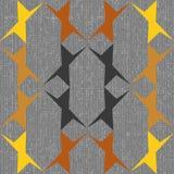 Reticolo geometrico astratto senza giunte Fotografia Stock