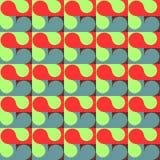 Reticolo geometrico Reticolo astratto senza giunte Il modello geometrico per i tessuti, imballante, Wallpaper Royalty Illustrazione gratis