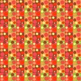 Reticolo geometrico Reticolo astratto senza giunte Il modello geometrico per i tessuti, imballante, Wallpaper Illustrazione Vettoriale