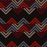 Reticolo geometrico astratto senza giunte Struttura di mosaico brushwork Covata della mano Struttura dello scarabocchio royalty illustrazione gratis