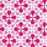 Reticolo geometrico di gocce senza cuciture illustrazione vettoriale