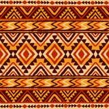 Reticolo geometrico etnico Fotografie Stock Libere da Diritti