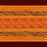 Reticolo geometrico etnico Fotografia Stock