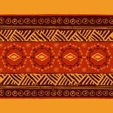 Reticolo geometrico etnico Immagini Stock