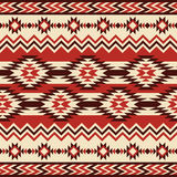 Reticolo geometrico etnico Fotografie Stock