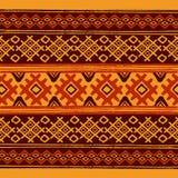 Reticolo geometrico etnico Immagine Stock