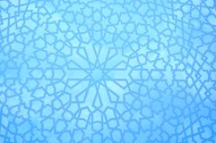 Reticolo geometrico marocchino Fotografie Stock Libere da Diritti