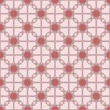 Reticolo geometrico rosso Fotografia Stock