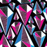 Reticolo geometrico senza giunte Fotografia Stock Libera da Diritti