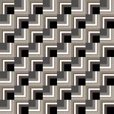 Reticolo geometrico senza giunte Immagine Stock Libera da Diritti